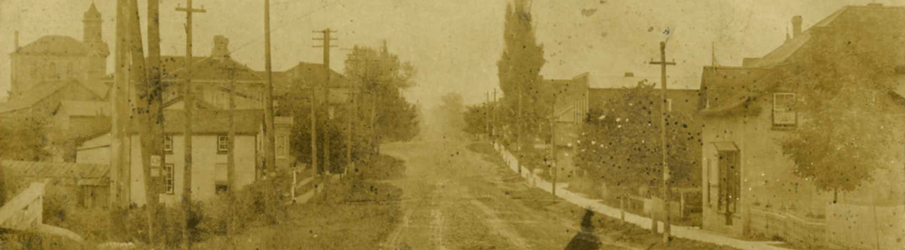 Old picture of Snyder's Road East in Baden