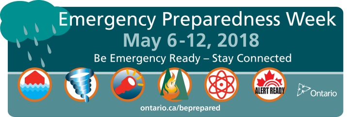 Emergency Preparedness Week May 6-12