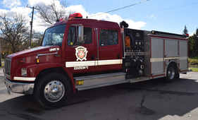 New Hamburg Pumper Truck