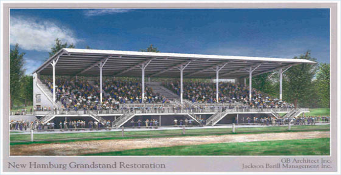 Grandstand opening