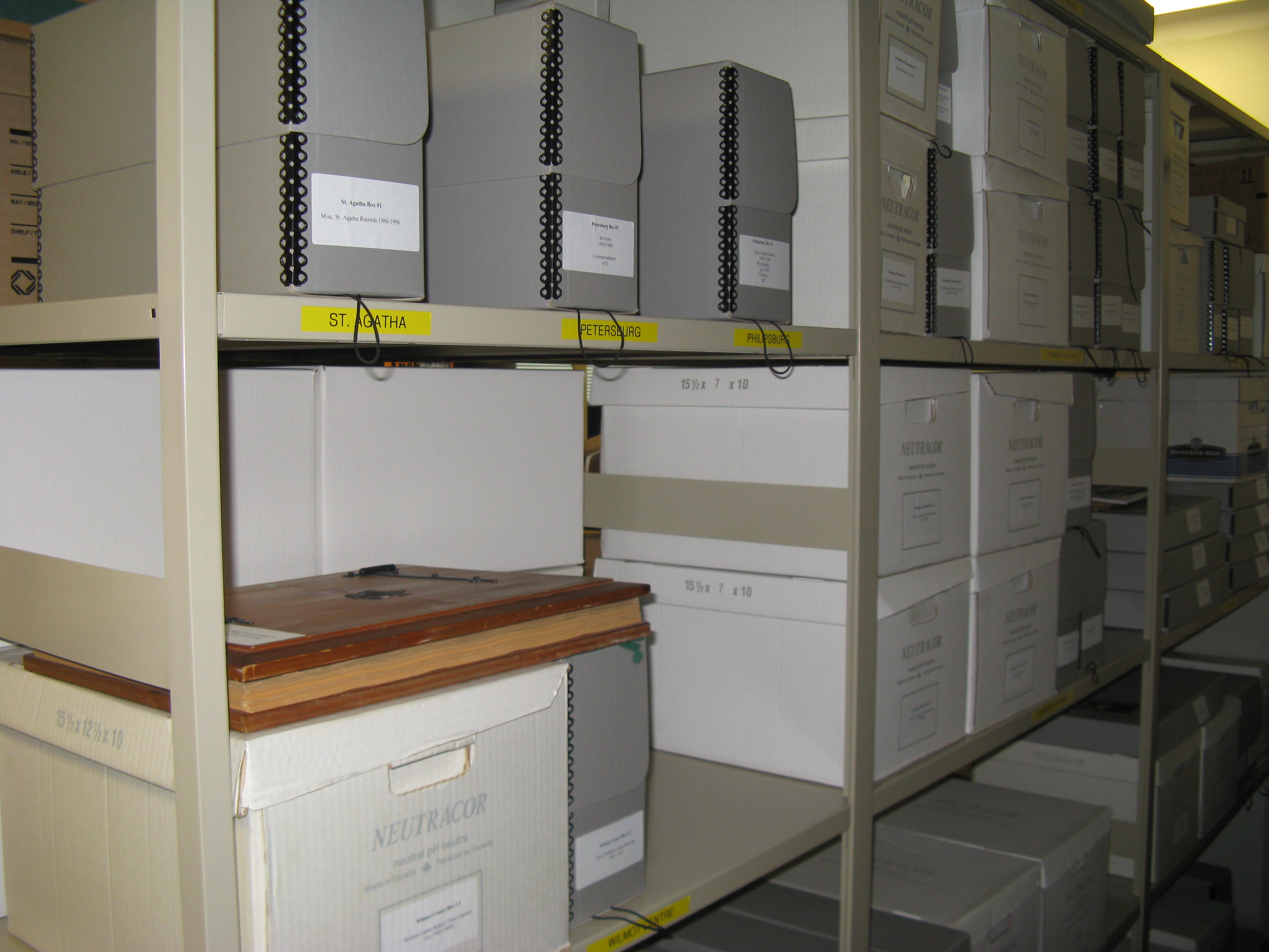 Archives - Wilmot Township