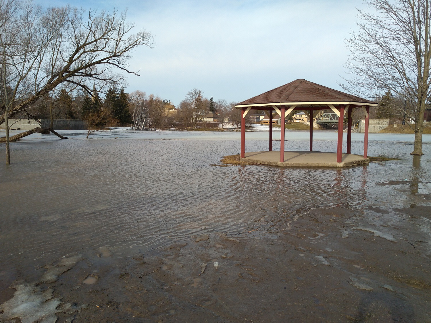 Flooding in New Hamburg