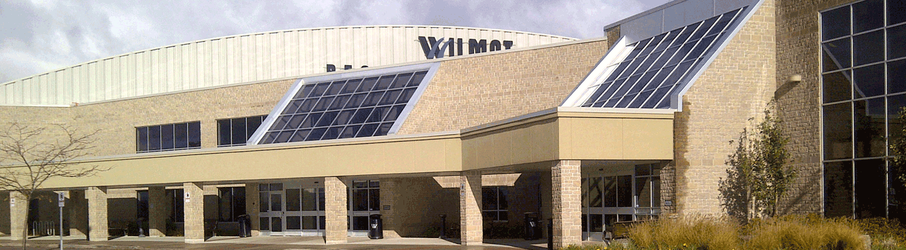 Exterior of the Wilmot Recreation Complex
